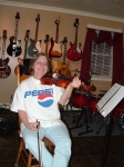 Di Charette studies the violin and makes steady progress. She is also a singer, songwriter and pianist. Di is a lifelong