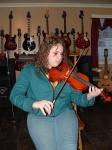Vanessa Lavoie really enjoys the violin. She is a band student and part of a family that enjoys music. Vanessa is a grea